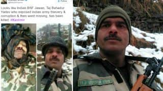 BSF Jawan Tej Bahadur Death Hoax with Fake pics goes viral, rumours may have originated from Pakistan