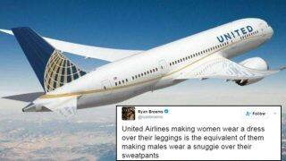 United Airlines under fire for not allowing girls wearing leggings board plane; Twitter draws sharp criticism