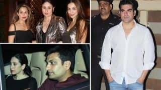 Kareena Kapoor Khan, Malaika Arora Khan-Arbaaz Khan, Karisma Kapoor and beau Sandeep Toshniwal head out to party (see ALL pics)