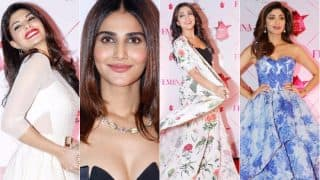 Femina Beauty Awards 2017: Jacqueline Fernandez, Vaani Kapoor, Shilpa Shetty Kundra ooze oomph on the red carpet!