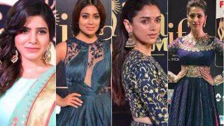IIFA Utsavam 2017 green carpet: Shriya Saran, Aditi Rao Hyadri,Samantha Ruth Prabhu, Raai Laxmi look drop-dead gorgeous!