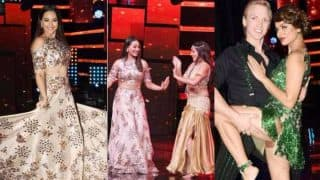 Nach Baliye 8: Sonakshi Sinha stuns in a lehenga on the first episode, shakes a leg with Mona Lisa and other contestants!