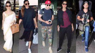 Celeb Airport Style This Week: Deepika Padukone, Kareena Kapoor Khan, Kangana Ranaut, Ranbir Kapoor and Hrithik Roshan amp up airport fashion!