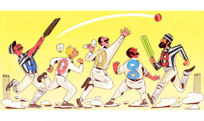 Google's New Doodle Marks 140 Years of Test Cricket