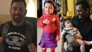 Ziva Dhoni in school uniform is MS Dhoni's proudest moment as father! See Ziva's new picture
