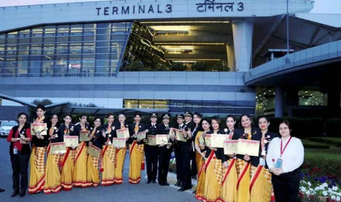 Air India flies into record books with flight by all-women crew