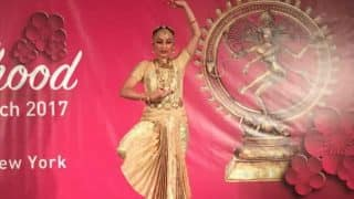 Rajinikanth's daughter Aishwaryaa Dhanush performing Bharatanatyam at UN Headquarters is the funniest celeb viral video! (Watch here)