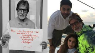 Amitabh Bachchan supports Gender Equality! Tweets, will share assets equally between Abhishek Bachchan and Shweta Nanda