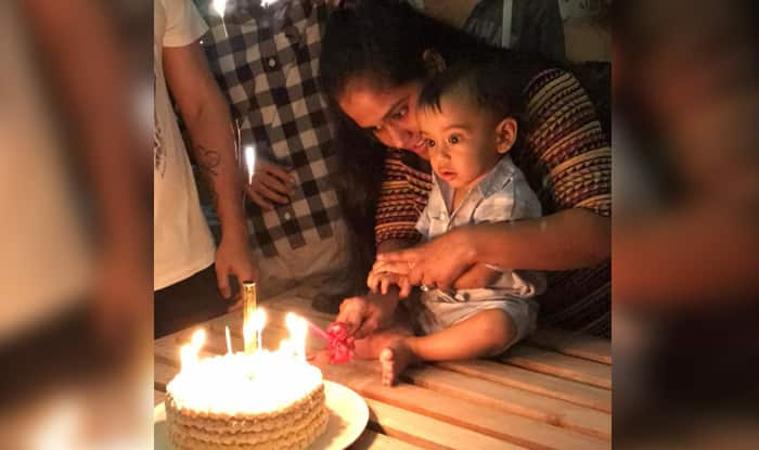 Salman Khan's nephew Ahil Sharma turns one