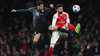 Champions League: Arsenal thrashed 5-1 by Bayern Munich, watch highlights