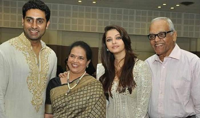 Aishwarya's father krishnaraj rai passes away