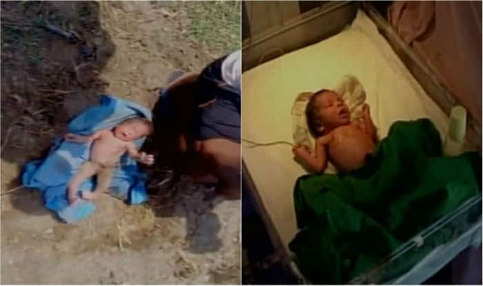 Father of newborn girl found buried alive arrested