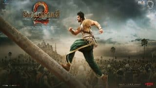 Baahubali 2 new poster: Prabhas as Shivudu is all set to take revenge of his father's murder from Kattappa