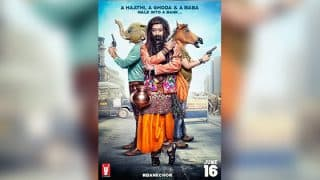 Bank Chor first poster: Ritiesh Deshmukh turns into a dhongi baba, but where's Vivek Oberoi?