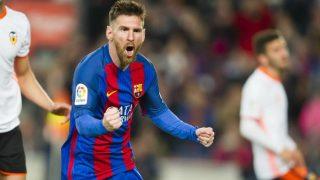 Lionel Messi's double helps Barcelona see off Valencia in La Liga clash