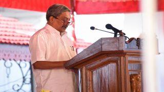 पर्रिकर ने गोवा विधानसभा में बहुमत साबित किया, 23 विधायकों का मिला समर्थन