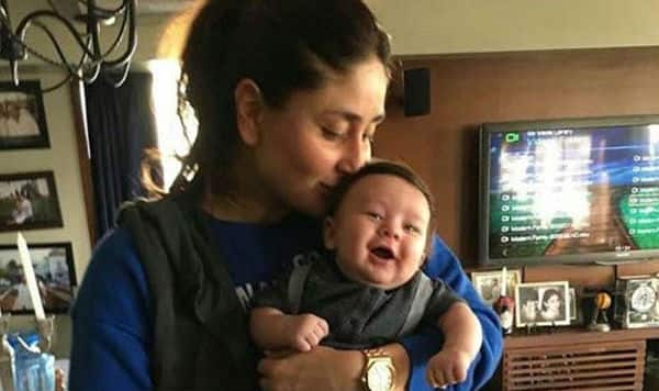 Kareena takes baby Taimur out for a spin around the city