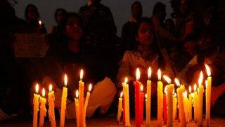 Kansas shooting: People organise candle light protest in Hyderabad