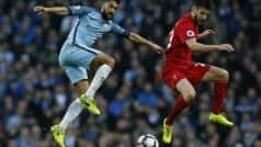 EPL 2016-17: Manchester City hit back to earn a draw with Liverpool