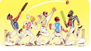 Google Doodle celebrates 140 years of Test cricket