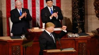 Donald Trump's first address to US Congress as President: Full Text (Watch Video)