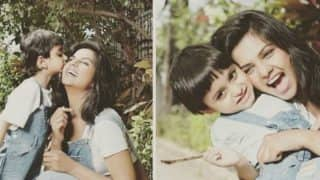 These pictures of Dalljiet Kaur and son Jaydon will make you go Aww!