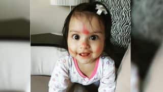 Dimpy Ganguly shares adorable picture of her daughter Reanna on Instagram!