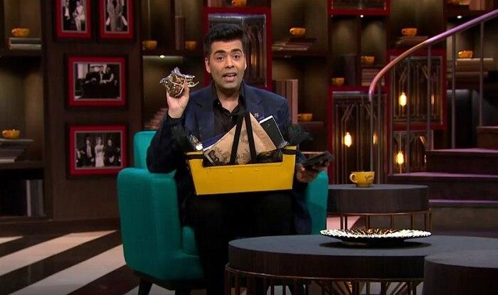 Karan Johar Has Finally Revealed the Koffee Hamper | 'कॉफ़ी विद करण' शो में सेलेब्स को दिए जानेवाले स्पेशल हैम्पर में होता है ये सब..