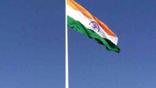 Tallest Flag of India Measuring 110 meters Hoisted in Belgaum, Karnataka