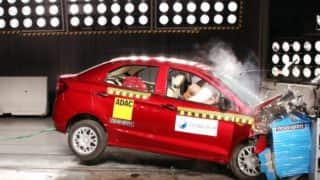 Chevrolet Enjoy, Ford Figo Aspire undergo NCAP crash tests
