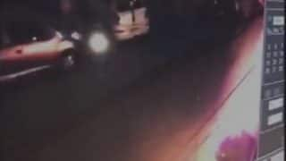 Caught on CCTV: Two men set Fortuner on fire to avenge road rage incident in Delhi