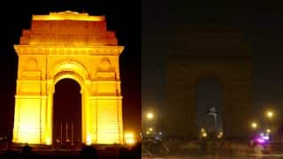 Earth Hour 2017: See pics of India Gate, Eiffel Tower and other monuments that observed the blackout!