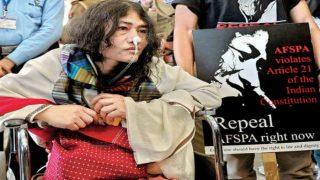 मणिपुर: AFSPA के खिलाफ इरोम शर्मिला की सियासी जंग, क्या खत्म होगा कानून?