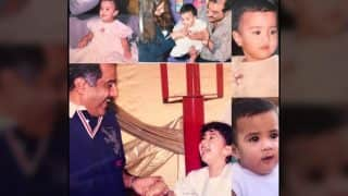 Sridevi gets into a throwback mode as she wishes her 'angel' Jhanvi Kapoor the best birthday ever! (see pic)