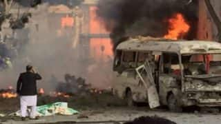 Suicide bomber targets bus in Kabul area during rush hour, 1 killed, 8 injured