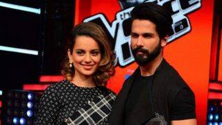 Shahid Kapoor takes a dig at Kangana Ranaut, says,