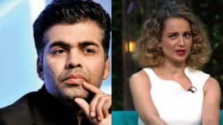 Karan Johar is still not over Kangana Ranaut's comment on nepotism and here is the proof!