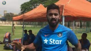 India vs Australia 2017: KL Rahul gives a sneak peak into net practice of the Men in Blue
