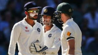 Indian team approach match referee over Steve Smith's DRS row, Australia backs skipper
