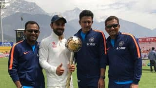 India presented with ICC Test Championship mace and one million dollar prize money