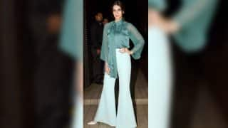 Kriti Sanon makes fluent style statement with flared pants! View Pics!