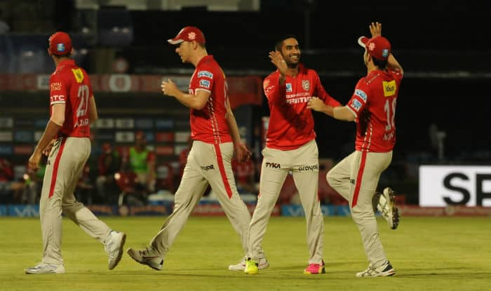 KXIP players in action during IPL 2016 | IANS Photo