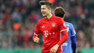 Robert Lewandowski sends Bayern Munich to DFB-Pokal semis in 3-0 win vs. Schalke, watch video