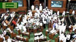 Shiv Sena MPs heckle Ashok Gajapathi Raju in Parliament after he defends Air India action against Ravindra Gaikwad