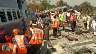 Mahakaushal Express derailment: Accident happened due to crack in track, says Siddharth Nath Singh; ATS joins probe