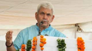 'Detractors Will be Taken Care of Within Hours,' Union Minister Manoj Sinha Assures BJP Workers