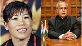 Mary Kom's birthday was made special by President of India, Pranab Mukherjee