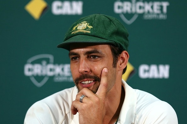 File picture of Mitchell Johnson.