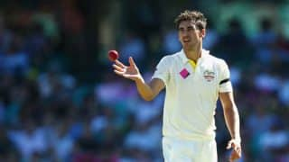 India vs Australia 2017: Mitchell Starc out of Test series with foot injury