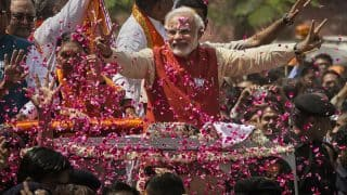 Uttar Pradesh polls: Prime Minister Narendra Modi concludes roadshow, offers prayers at Kaal Bhairav temple